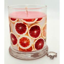 Sunshine Passion Ring Candle with RINGREVEAL
