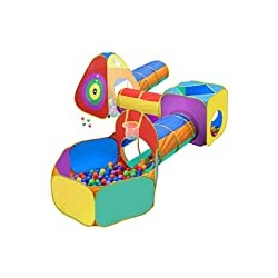 Gift for Toddler Boys & Girls, Ball Pit, Play Tent and Tunnels
