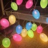 Easter Lights Decorations 10 Ft 20 Led Easter Eggs String Lights Battery Operated