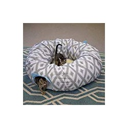 Kitty City Large Cat Tunnel Bed, Cat Bed, Pop Up Bed, Cat Toys, Christmas Tree