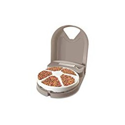 PetSafe 5 Meal Pet Feeder for Dogs and Cats