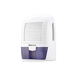 Pro Breeze Electric Mini Dehumidifier, 2200 Cubic Feet (250 sq ft), Compact and Portable for High Humidity in Home
