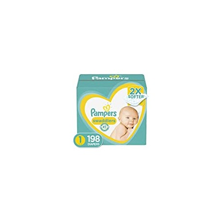 Diapers Newborn/Size 1 (8-14 lb), 198 Count