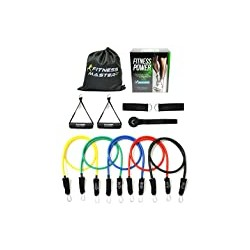 Resistance Bands - Tension Band Set for Weights Exercise, Fitness Workout